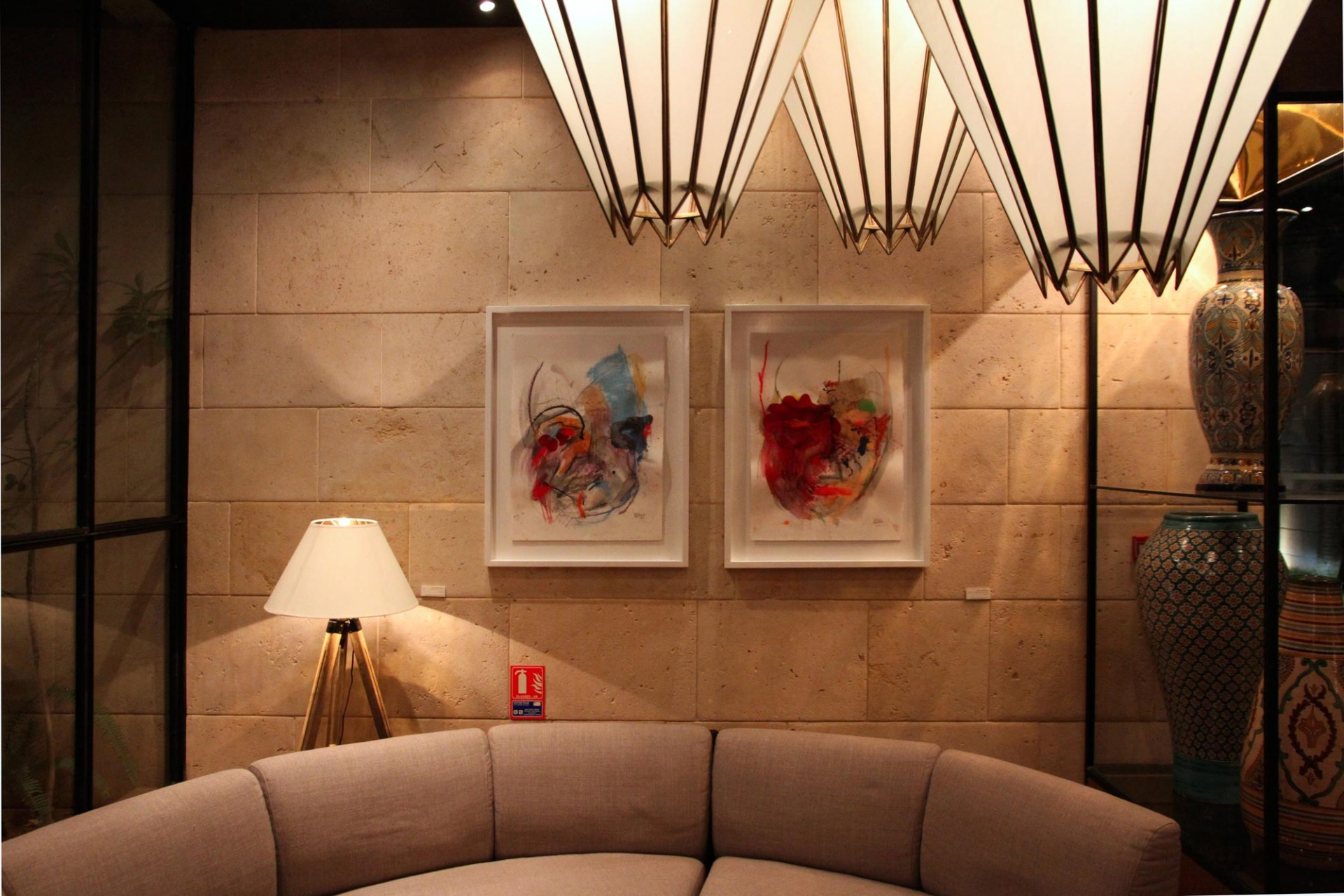 yaze hotel sahrai fez october 3 2015 january 10 2016 david bloch gallery. Black Bedroom Furniture Sets. Home Design Ideas